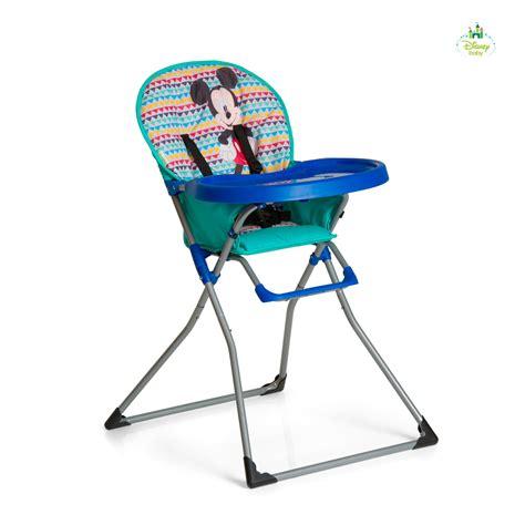 chaise minnie disney high chair mac baby mickey minnie buy at
