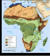 Nubian Desert Physical Map Meinafrikanischemangotabletten