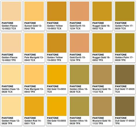 gold color number pantone gold 1 room color pantone gold