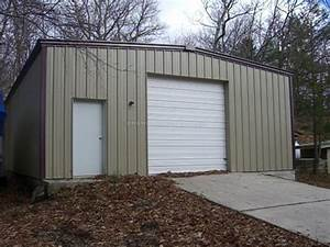 Prefab steel backyard shop in greenwood lake ny for Backyard shop buildings