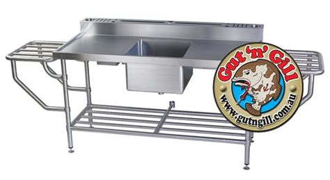 aluminum fish cleaning table 14 best images about fish cleaning station on pinterest