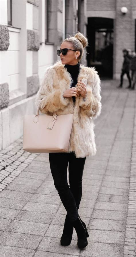 Fluffy Coats For Winter Here Are Some Of The Best Ones