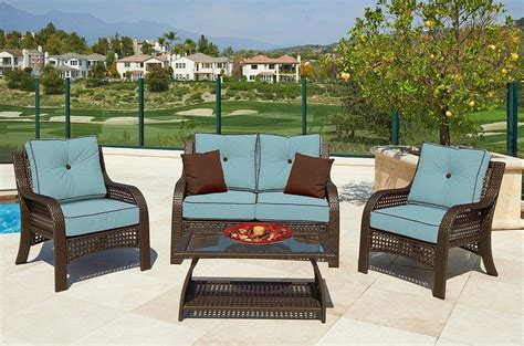 garden treasures patio furniture garden treasures patio furniture replacement cushions