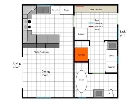 Home Design Ideas Kitchen - planned layout house plans 21569