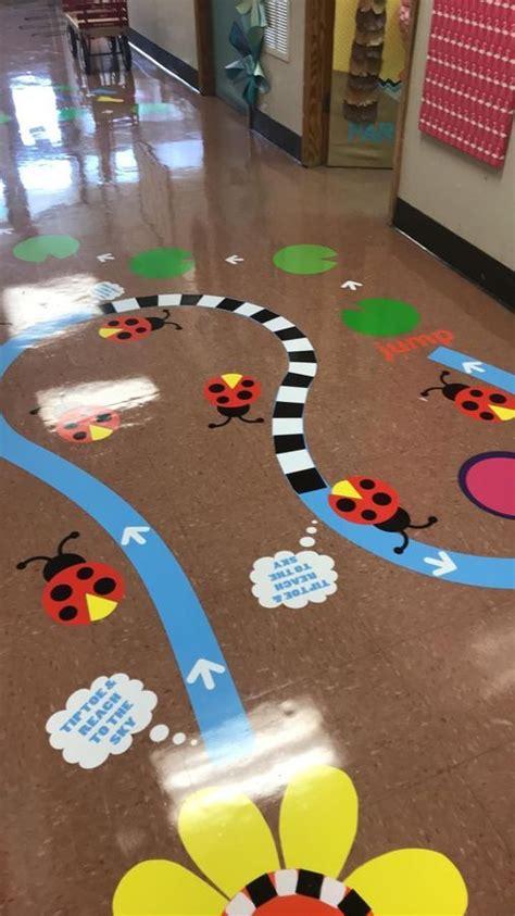 original sensory path design kindergarten sensory