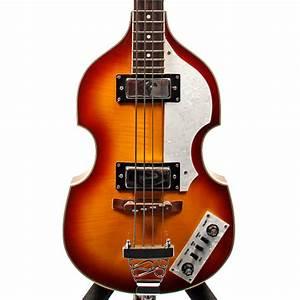 Rogue  U0026 39 Beatle Bass U0026 39  Hofner Bass Copy 2000 U0026 39 S Violin Burst
