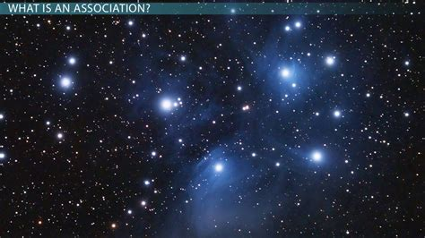 young stars stellar associations video lesson
