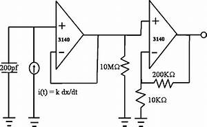 Schematic Of Signal Conditioning Electronics For Pulse