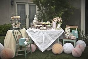 Pretty Tea Party Bridal Shower Inspiration - The Sweetest