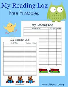 50 Best Books for Preers  Free Printables Reading Logs  Natural Beach Living