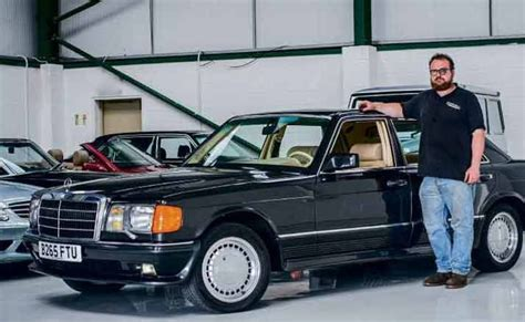500 sel classic (european import). Man & machine - Edward Hall and his 1984 Mercedes-Benz ...