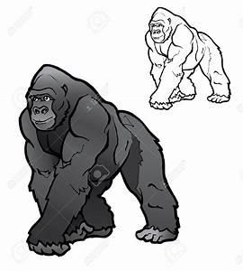 Best Gorilla Clipart #17733 - Clipartion.com