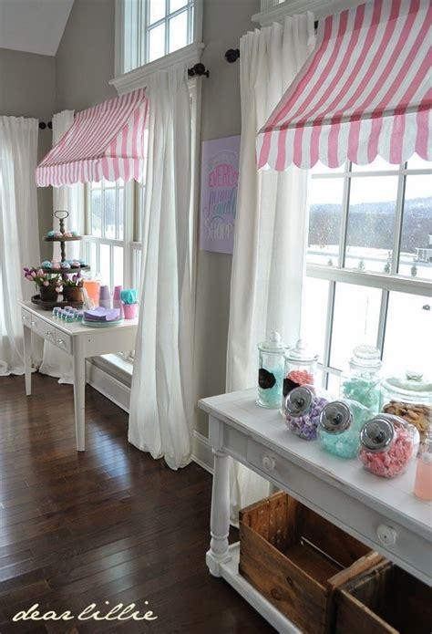 homemade awnings bakery decor kitchen window treatments store decor