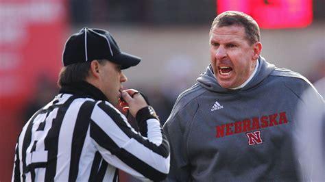 ugly final act  nebraska cornhuskers coach bo pelini