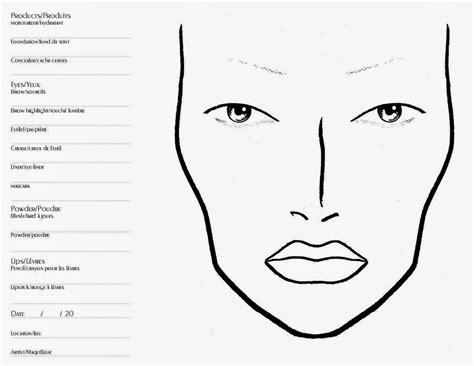 tabici beauty face chart