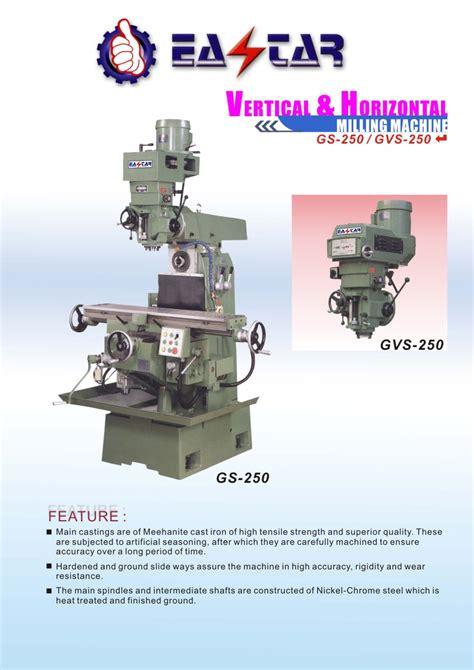 metal cutting machine tools milling machine  vertical horizontal millgs