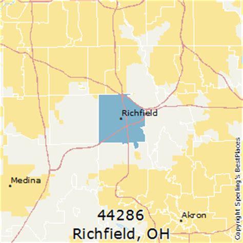 places    richfield zip  ohio
