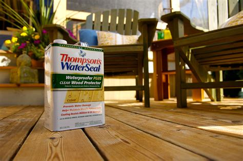 thompsons water seal  clear wood protector stops