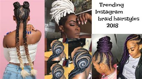 Trending Braided Summer Hairstyles 2018