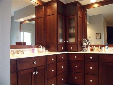 corner bathroom vanity cabinets  drawers