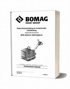 Bomag Bpr 50 55d 60 65d Maintenance Manual