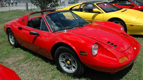 The far easier production of steel body panels meant that ferrari could significantly increase sales numbers, 3,569 examples of the dino 246 were build (both gt and gts cars). Ferrari Dino 246 Gts Prix