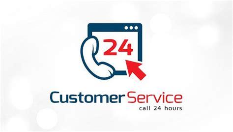 customer service logos editable psd ai vector eps
