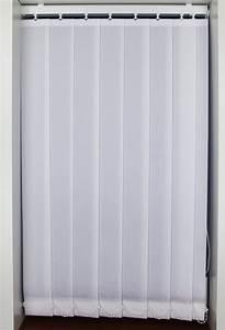 Peony White Vertical Blinds - Woodyatt Curtains