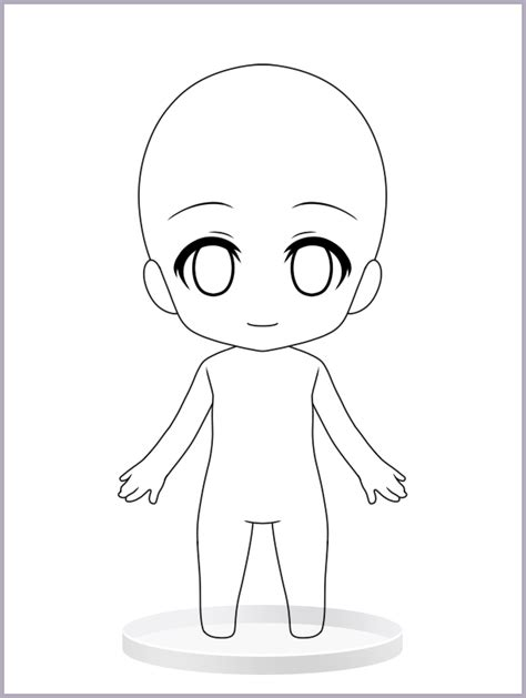 Anime Template by Anime Templates Pictures Anime Template Drawing