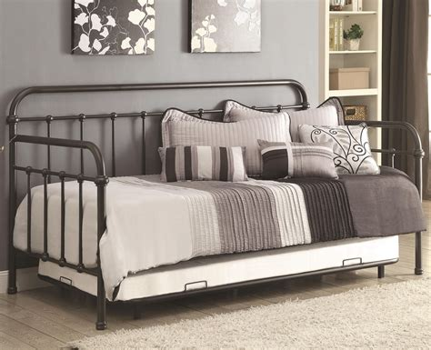 300398 Dark Bronze Metal Daybed With Trundle  Aspen's. Chrome Table Base. Smart Tint For Cars. Glass Tile Cutter. Modern Closet. Modern Miami. Alape. Haiku Fan Review. Entrance Tables