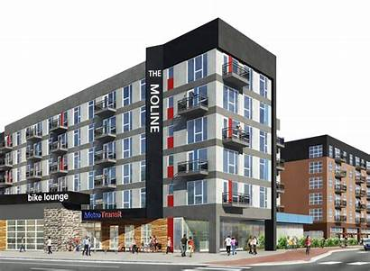 Moline Hopkins Downtown Urban Living Apartment