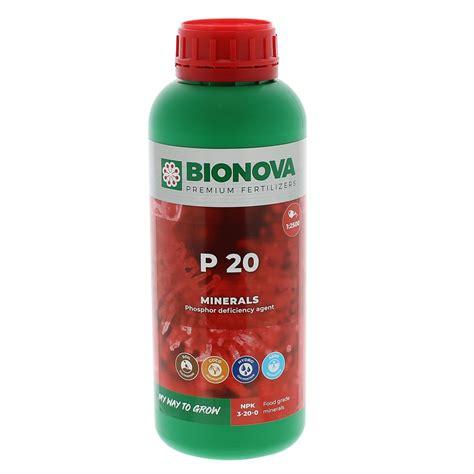 P 20 Bio Nova - phosphore liquide utile au carence végétale