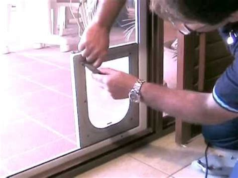 petsafe deluxe patio panel pet door installation www