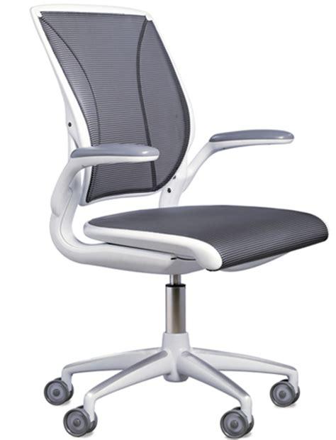 humanscale diffrient world ergonomic task executive mesh chair