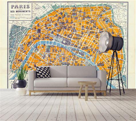 papier peint et posters grand format de cartes du monde