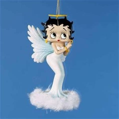 amazon com sexy betty boop angel with feathers christmas