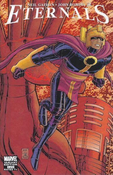 Eternals #5 variant. | John romita jr, Marvel comics ...