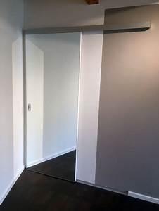 Spiegel An Der Wand Befestigen : schiebet r slide vor wand laufend in berlin und brandenburg ~ Markanthonyermac.com Haus und Dekorationen