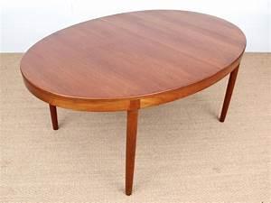 Table Ovale Scandinave : grande table scandinave ovale en teck 6 12 pers galerie m bler ~ Teatrodelosmanantiales.com Idées de Décoration