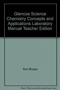 9780078907999  Glencoe Science Chemistry Concepts And