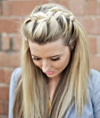 latest long hairstyles plaits