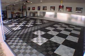 Vented Grid-Loc Tiles - Garage Floor Tiles