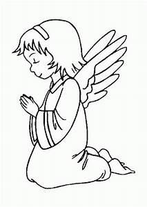 Ángel rezando HD DibujosWiki