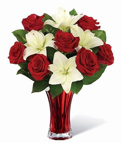 Bouquet Lily Rose Classic Roses 11k Flower