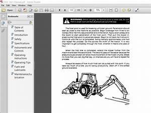 Case 580c Loader Backhoe Operators Manual