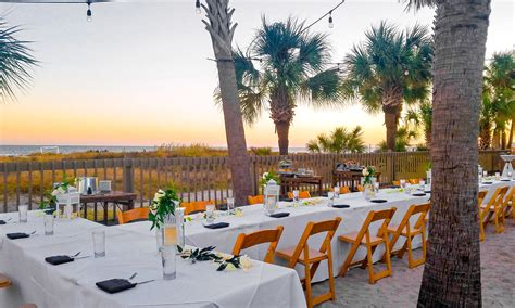 hilton head resort wedding venues beach house hilton
