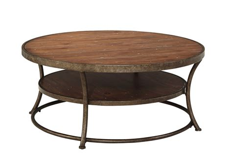 ashley furniture cocktail table ashley nartina round cocktail table ashley t805 8 at