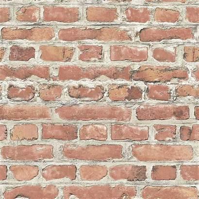 Brick Wall Effect Grey Rasch Stone Decor