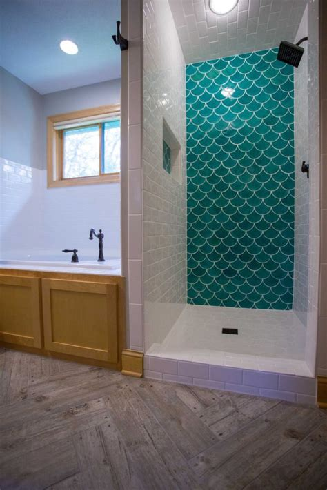 moroccan fish scale tile bathroom trends diy house