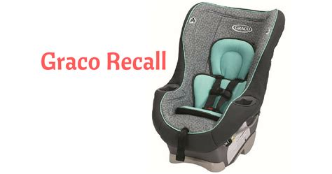 Graco High Chair Recall 2014 by Graco Recall On My Ride 65 Convertible Child Car Seat